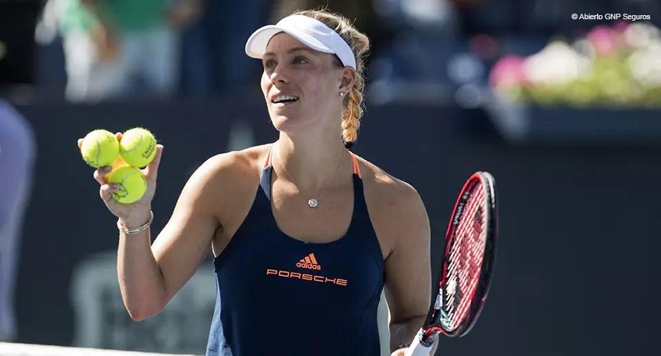 Finalmente. Kerber volta a bater uma top 30 cinco meses depois e está na sua 1.ª final de 2017