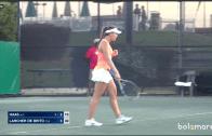 Michelle esbarra em jovem parede austríaca nos quartos-de-final do ITF de Dothan