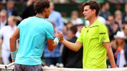 Rafael Nadal e Dominic Thiem numa final para a história em Barcelona