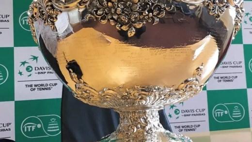 Siga passo-a-passo o Sorteio da Taça Davis