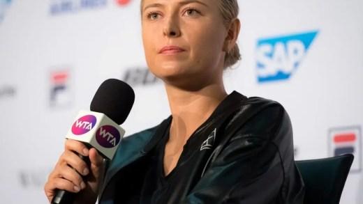 [VÍDEO] Sharapova com momento de tensão em conferência de imprensa: «Essa pergunta é tão inapropriada»