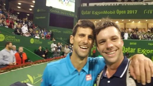 Zeballos, o rei das selfies: «Quero uma com Federer em Wimbledon!»
