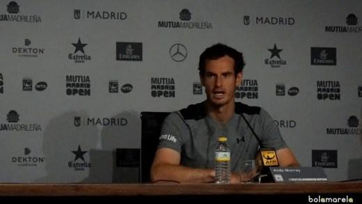 Andy Murray: «Devia ter tentado fazer mais e não fiz»