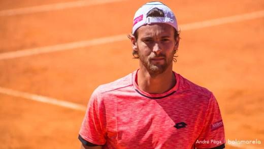 João Sousa vai estrear dupla no torneio de pares do Masters 1000 de Roma
