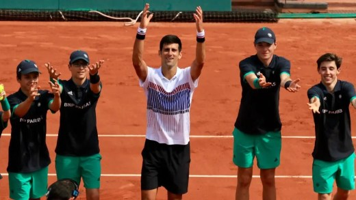 Djokovic: «Chegar a este torneio como campeão deixa-me aliviado»