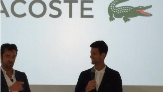 [Fotos] Já viu como é que a Lacoste vai vestir Djokovic em Roland Garros e Wimbledon?