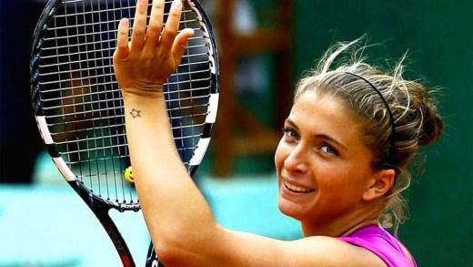 Errani, finalista em 2012, está a jogar o qualifying em Roland Garros: «Caí no ranking e tenho de passar por isto. Não é um problema»