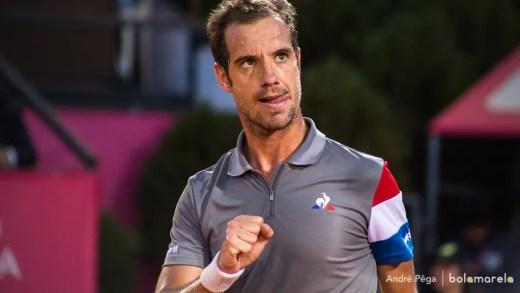 Gasquet: «Estou preparado para jogar o meu melhor ténis»