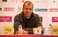 Gilles Muller antecipa final do Millennium Estoril Open: «Amanhã vai ser muito duro para mim»