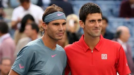 CONFIRMADO. Vem aí Rafael Nadal vs. Novak Djokovic, edição n.º 50