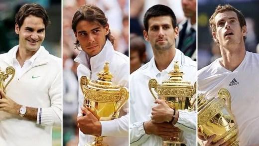 Roger Federer define o Big Four em quatro palavras
