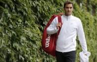 Quer ver como foi o primeiro treino de Federer em Wimbledon?