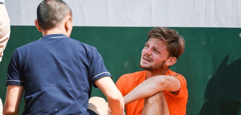 David Goffin desiste de Wimbledon