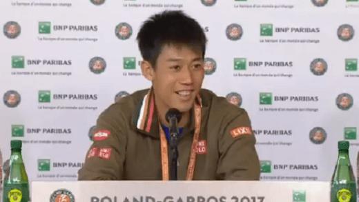 [Vídeo] Nishikori derrotou Murray no US Open… mas não se lembra: «Ganhei ou perdi? Tenho péssima memória!»