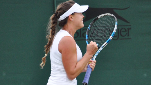 Michelle avança no qualifying de Wimbledon