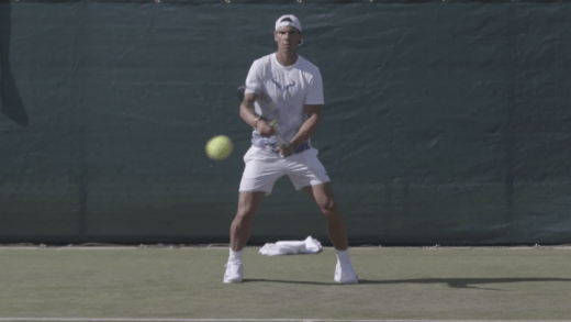 [Vídeo] Rafael Nadal já está em Wimbledon… dois anos depois!