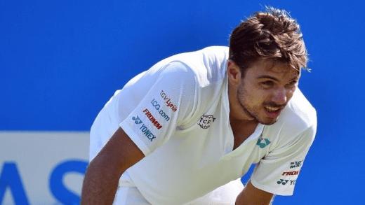 Wawrinka perde na primeira ronda em Londres e Federer poderá ser quarto cabeça-de-série em Wimbledon