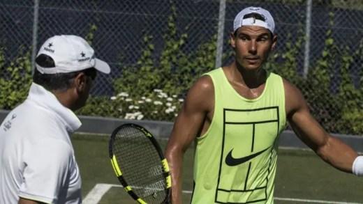 Toni Nadal não tem dúvidas sobre quem é o favorito para Wimbledon: e não é o sobrinho