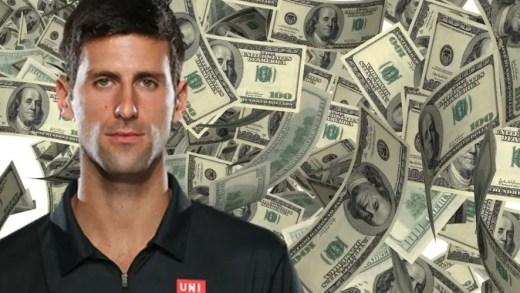 Quanto vale uma vitória de Djokovic, Nadal e Federer?