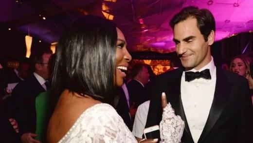 Serena e Federer no top 5 dos atletas com mais estilo