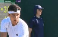 Duarte Vale é eliminado na primeira ronda de singulares em Wimbledon