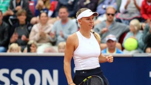 Caroline Wozniacki é a primeira jogadora a chegar às 40 vitórias WTA em 2017