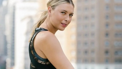 Sharapova entre rendas e cristais Swarovski no US Open