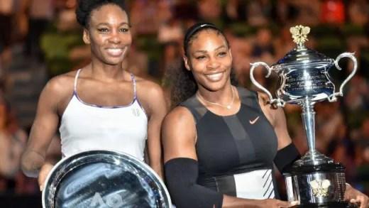 Venus e Serena Williams doam um milhão para construir um complexo de ténis para crianças