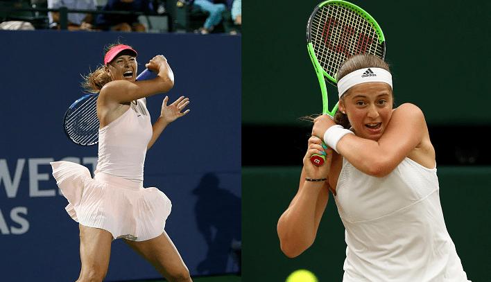 QUE DUELO. Sharapova defronta Ostapenko na PRIMEIRA RONDA de Cincinnati
