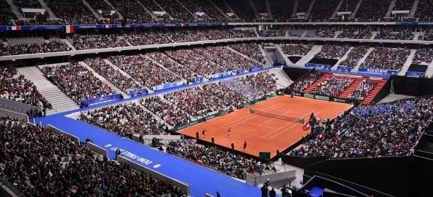 Taça Davis. Stade Pierre Mauroy acolhe final entre a França e a Bélgica