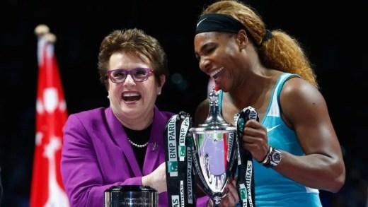 Billie Jean King: «Há 15 anos que o McEnroe anda a tentar jogar contra a Serena»