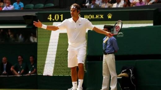 Federer confessa ter-se sentido aliviado quando perdeu no US Open