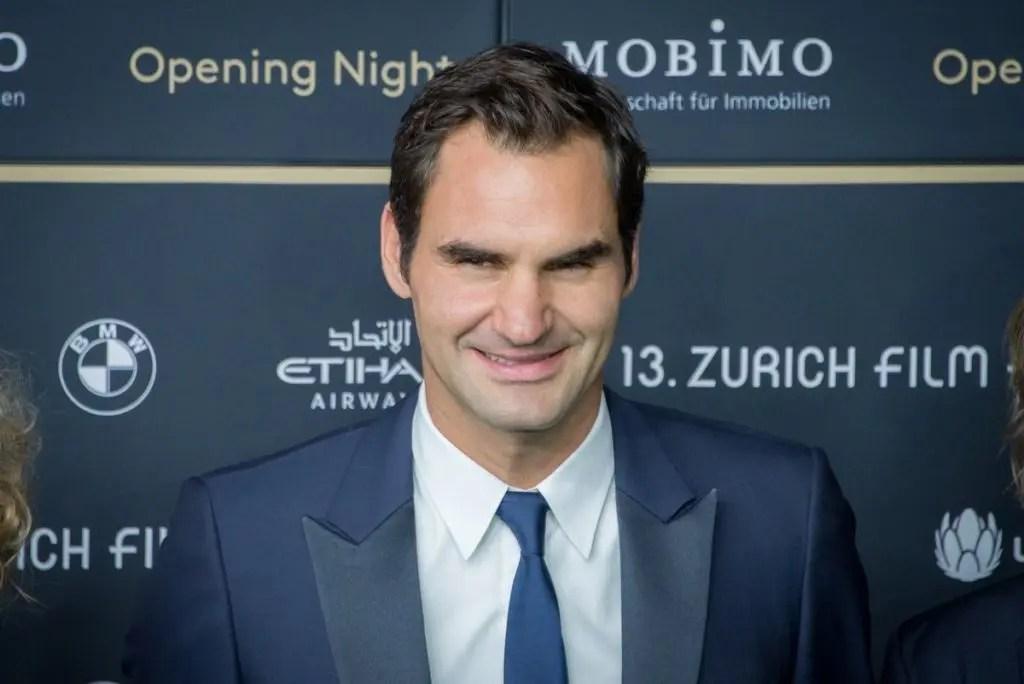 Que estrela de Hollywood escolheria Federer para vestir a sua pele?