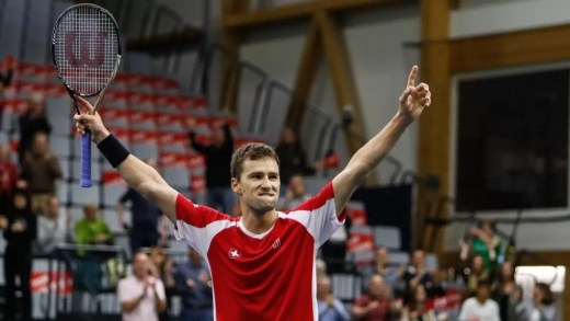 Não há Federer, nem sequer Wawrinka… mas a Suíça continua firme no Grupo Mundial