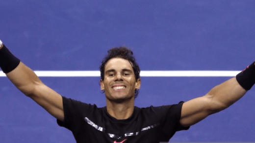 Rafa Nadal joga muito para derrubar a Torre de Tandil rumo à sua 4.ª final no US Open