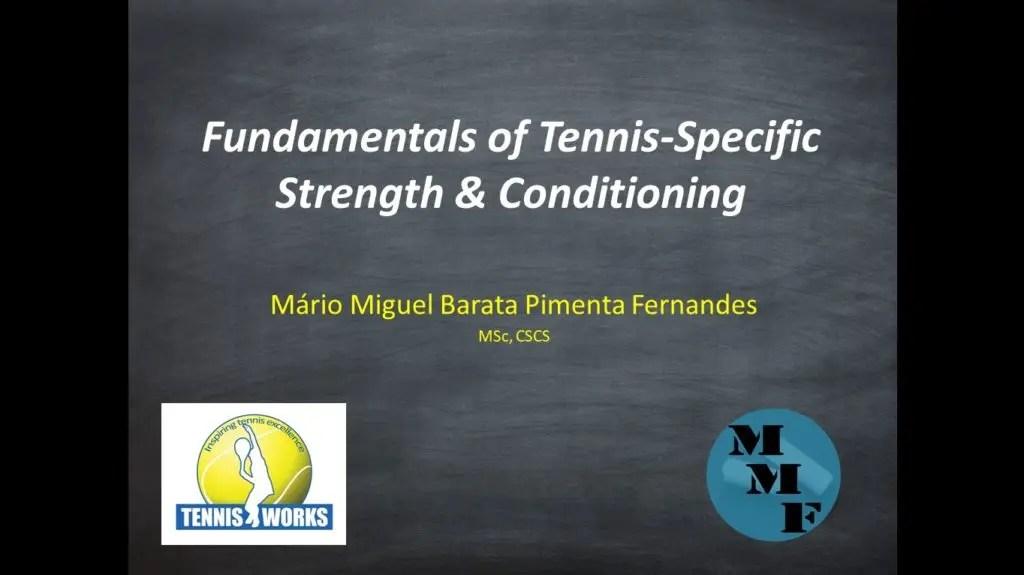Quer saber em que consiste um programa de preparação física em tenistas profissionais? Então tem que assistir a este webinar!