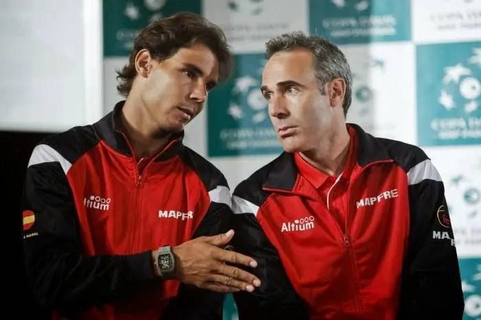 Corretja: «Nadal já acha que poderá superar os recordes de Federer»