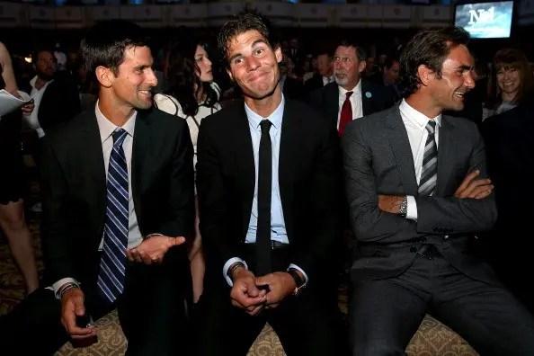 Djokovic: «Federer e Nadal são únicos. Sou o que sou hoje também por causa deles»