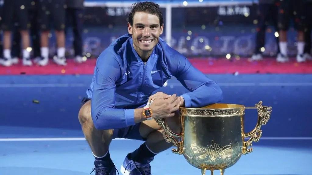 Nadal venceu cinco títulos depois de salvar match points. Quais?