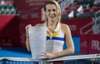 Pavlyuchenkova soma 11.º título da carreira em final que terminou depois da 1 da manhã