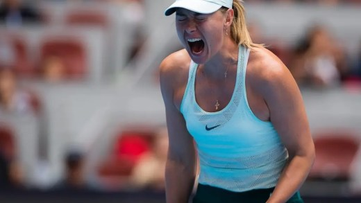 Maria Sharapova vence em Tianjin e alcança primeira final desde o regresso à competição