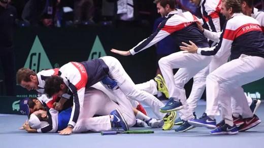 França iguala Grã Bretanha e só dois países têm mais títulos na Taça Davis