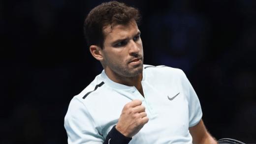 BATALHA! Dimitrov sofre mas bate Thiem na 1.ª jornada do Grupo Sampras das ATP Finals