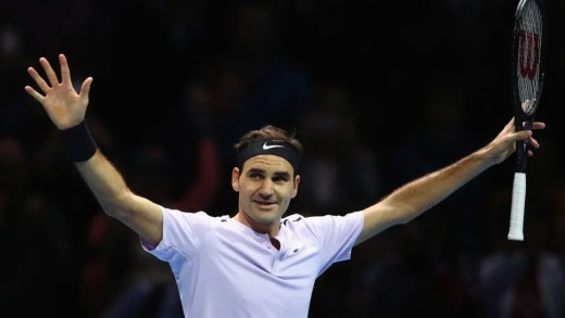 Federer derrota Zverev e apura-se para as meias-finais das ATP Finals