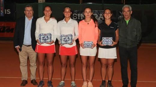 Francisca Jorge e Maria Inês Fonte conquistam título nacional absoluto em pares femininos