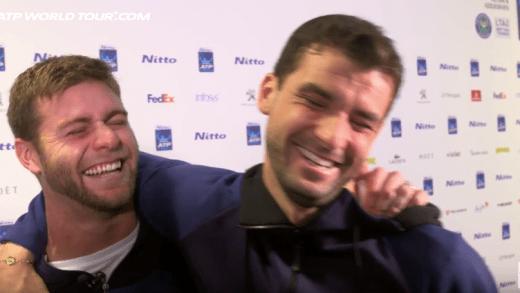 [VÍDEO] Ryan Harrison apanha Dimitrov numa entrevista épica