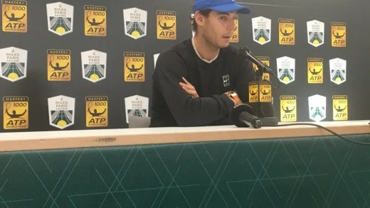 Nadal convenceu ATP Finals a adiar a sua estreia em Londres
