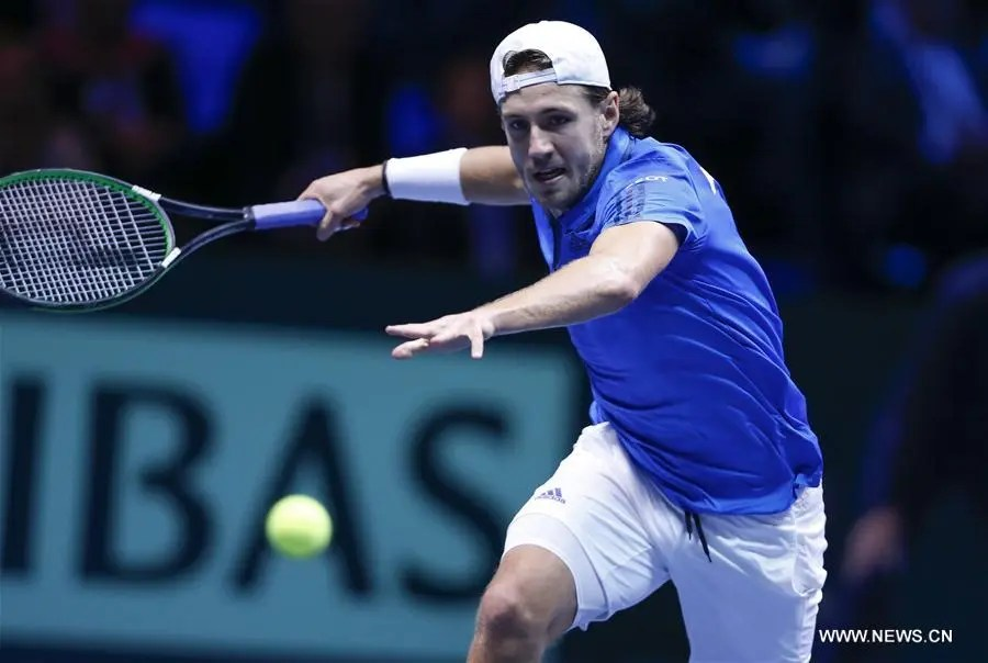Confirmado: Pouille vai mesmo jogar o encontro decisivo da final da Taça Davis