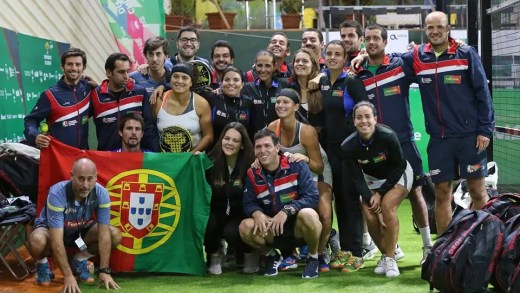 Portugal segue imbatível no Campeonato Europeu de Padel