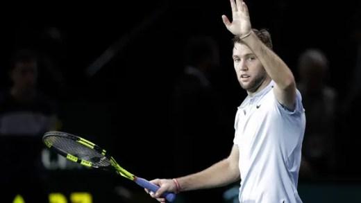 Finalista Jack Sock encerra semana de sonho de Benneteau e está a apenas uma vitória das ATP Finals